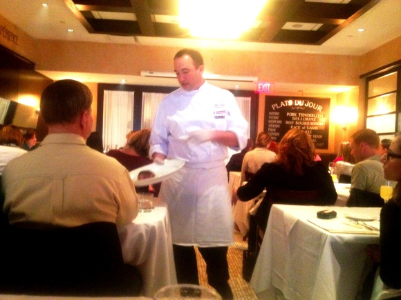 Chef Martin Ticar, Executive Chef at Mon Ami Gabi and our instructor for the morning.