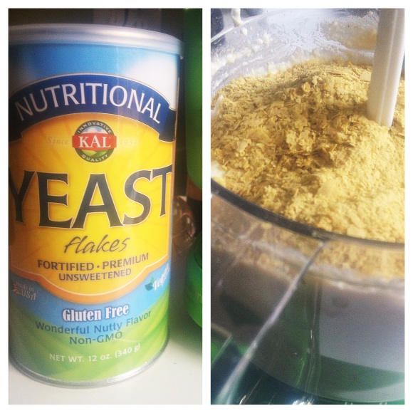 Nutritional yeast aka Nooch is my new favorite product. It makes everything taste like cheese.